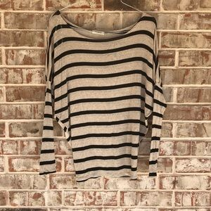 Promesa Boutique Dolman Sleeve striped comfy Top